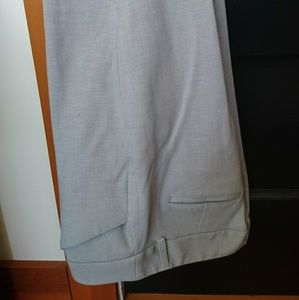 Light gray Express Editor barely boot pants 8R